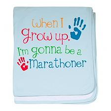 Future Marathoner baby blanket