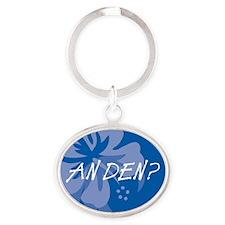 An Den? Oval Keychain