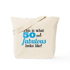50 and Fabulous Tote Bag
