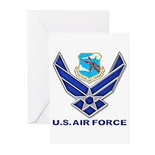 USAF SAC Greeting Cards (Pk of 10)