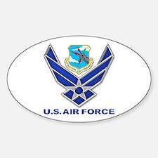 USAF SAC Sticker (Oval)