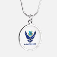 Sac Silver Round Silver Round Necklace