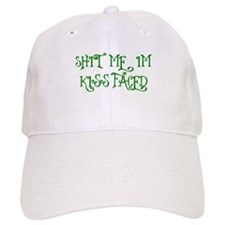 Kiss Faced Baseball Baseball Cap