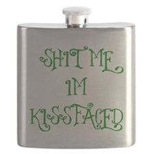 Kiss Faced Flask