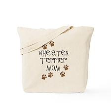 Wheaten Terrier Mom Tote Bag