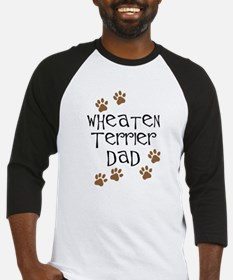 Wheaten Terrier Dad Baseball Jersey