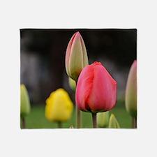 Tulips Throw Blanket