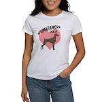 Weims Rule Pink Heart Women's T-Shirt