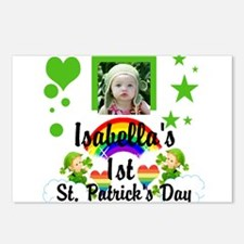 Baby photo St. Patricks Day Postcards (Package of