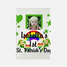 Baby Photo St. Patricks Day Rectangle Magnet