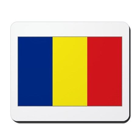 Flag of Chad Mousepad