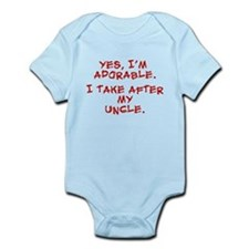 Adorable like my uncle Infant Bodysuit