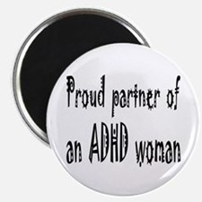 Magnet for the partner of an ADHD woman