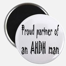 Magnet for the partner of an ADHD man