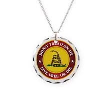 DTOM Gadsden Flag (logo) Necklace