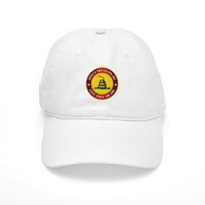 DTOM Gadsden Flag (logo) Baseball Baseball Cap