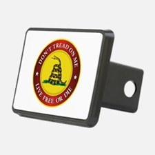 DTOM Gadsden Flag (logo) Hitch Cover