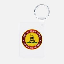 DTOM Gadsden Flag (logo) Keychains