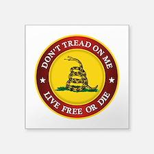 DTOM Gadsden Flag (logo) Sticker