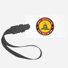 DTOM Gadsden Flag (logo) Luggage Tag