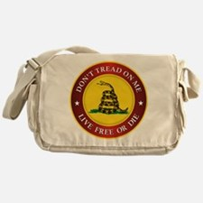 DTOM Gadsden Flag (logo) Messenger Bag