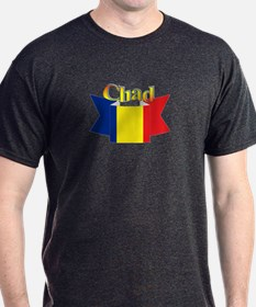 Chadian flag ribbon T-Shirt