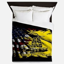 gadsden_kitchen towel Queen Duvet
