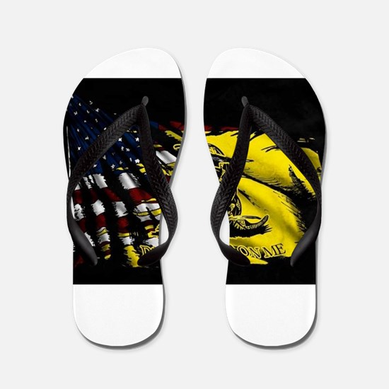 gadsden_kitchen towel Flip Flops