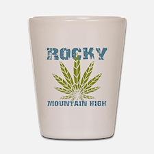 Rocky Mountain High Shot Glass