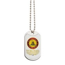 DTOM We The People Dog Tags
