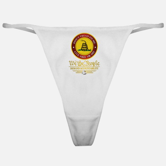 DTOM We The People Classic Thong