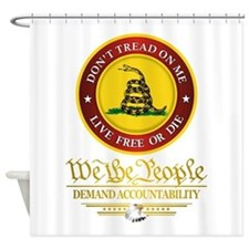 DTOM We The People Shower Curtain