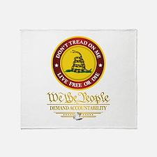 DTOM We The People Throw Blanket