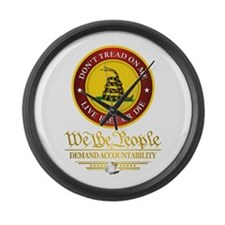 DTOM We The People Large Wall Clock