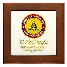 DTOM We The People Framed Tile