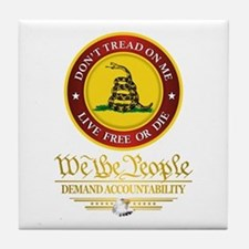 DTOM We The People Tile Coaster