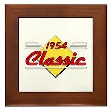 1954 Classic Birthday Framed Tile