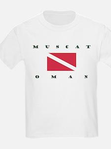 Muscat Oman Dive T-Shirt