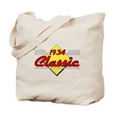 1934 Classic Birthday Tote Bag