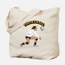 Volleyball with Text Tote Bag
