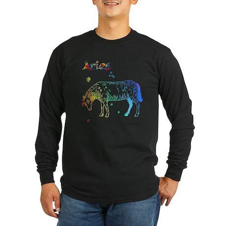 Aries Long Sleeve Dark T-Shirt