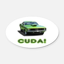 CUDA! Oval Car Magnet