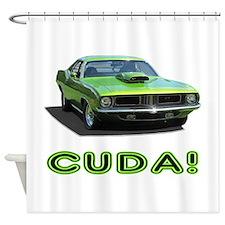 CUDA! Shower Curtain