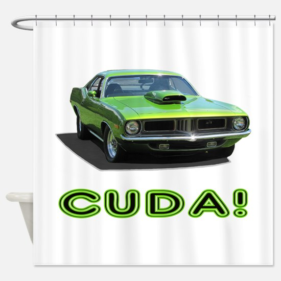 CUDA! Shower Curtain