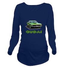 CUDA! Long Sleeve Maternity T-Shirt