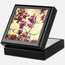 Beautiful magnolia art Keepsake Box