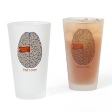Find a Cure Drinking Glass