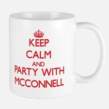 Keep calm and Party with Mcconnell Mugs