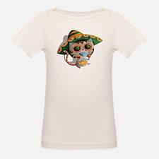 Mexican Cat in Sombrero T-Shirt