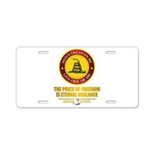 (DTOM) The Price of Freedom Aluminum License Plate